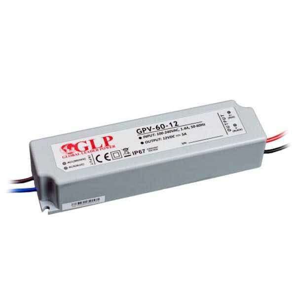 60W LED maitinimo šaltinis GPV
