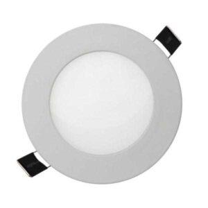 6W apvali LED panele Algine