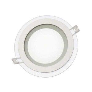 12W stiklinė LED panelė Fiale R