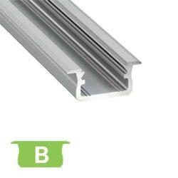 Įfrezuojamas LED profilis B
