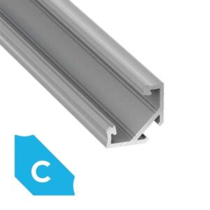 Kampinis LED profilis C