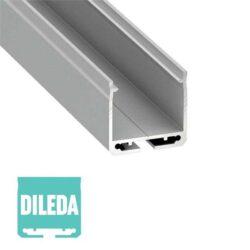 Paviršinis LED profilis DILEDA