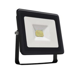 10W LED prožektorius LUX juodas