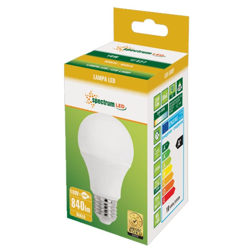 10W E27 LED lemputė GLS NW
