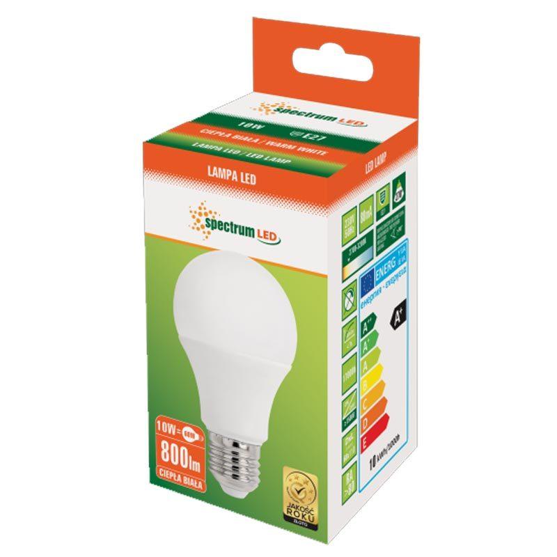 10W E27 LED lemputė GLS WW