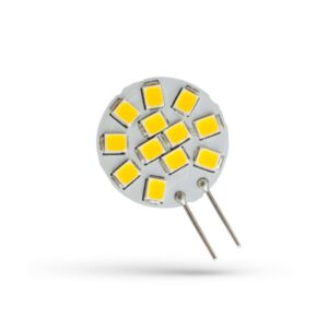 1,2W 12V G4 LED lemputė Side PIN