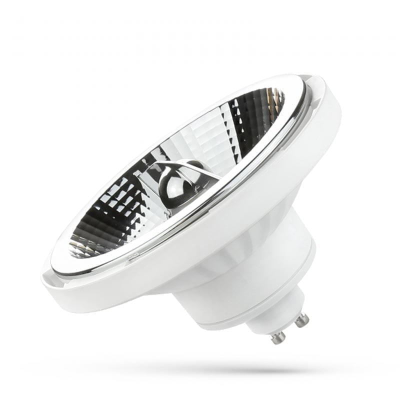 12W GU10 LED lemputė AR111 20°