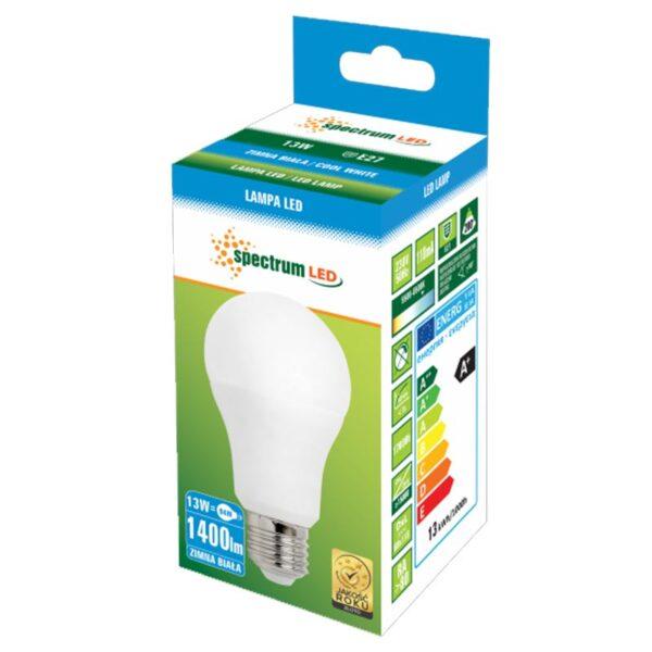 13W E27 LED lemputė GLS CW