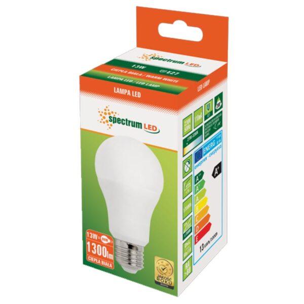 13W E27 LED lemputė GLS WW