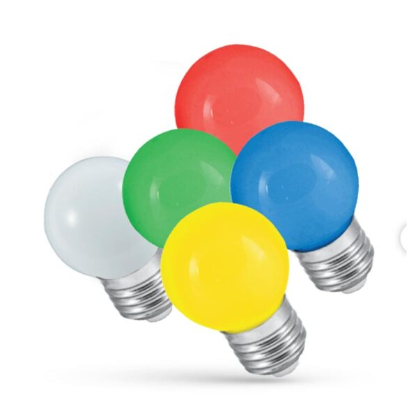 1W E27 LED lemputė BULB