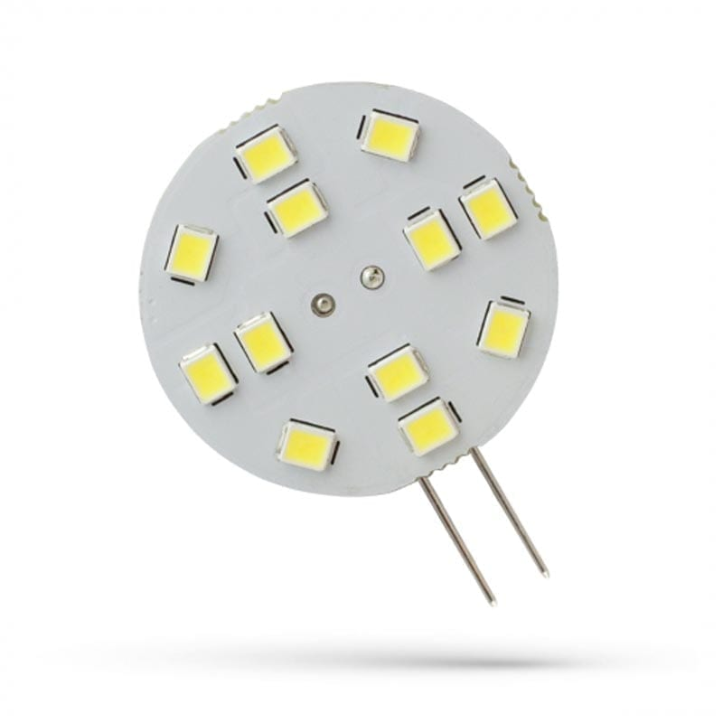 2W 12V G4 LED lemputė Side PIN