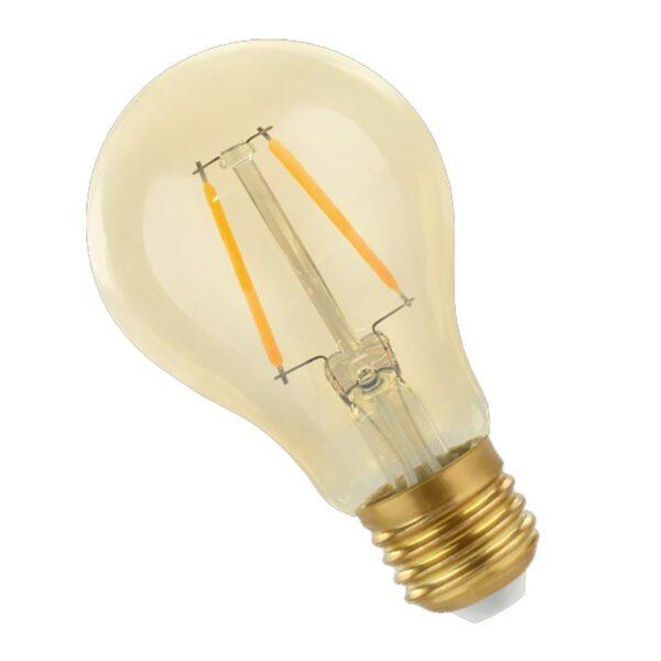 2W E27 LED lemputė COG Retro