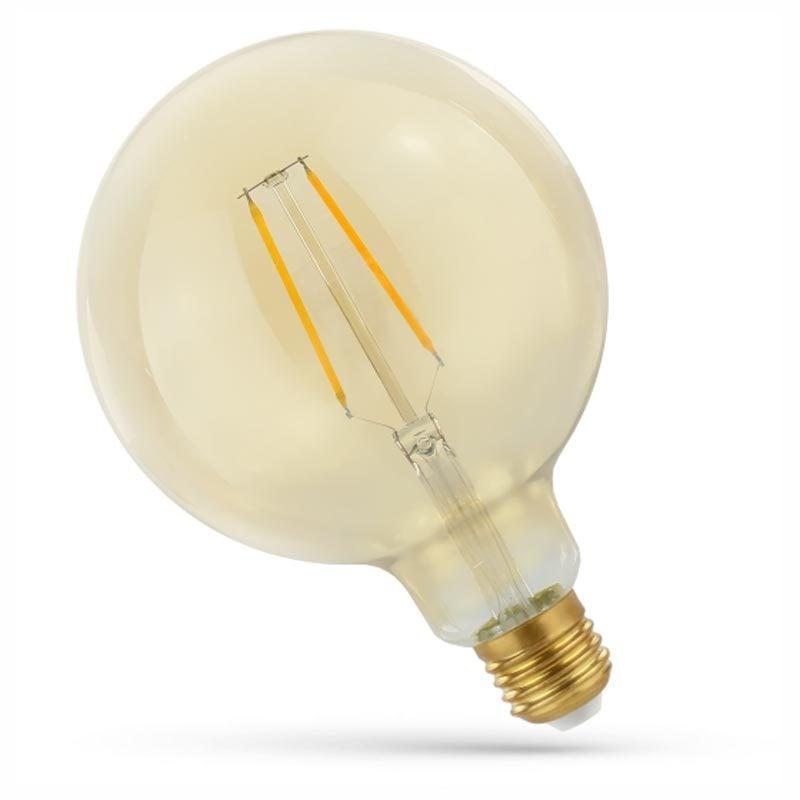2W E27 LED lemputė COG Retro GLOBE
