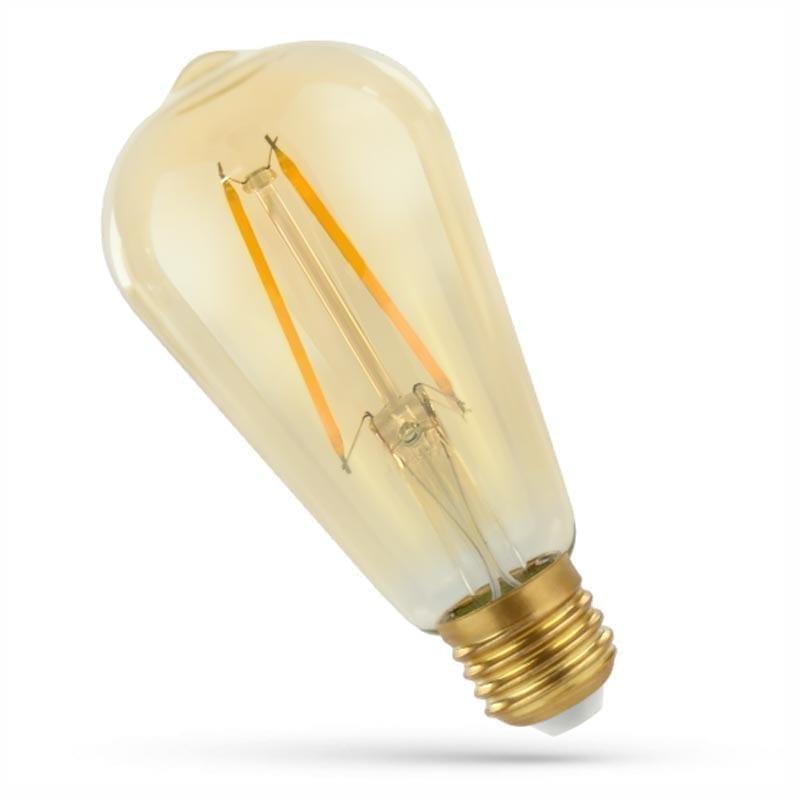 2W E27 LED lemputė COG Retro EDISON