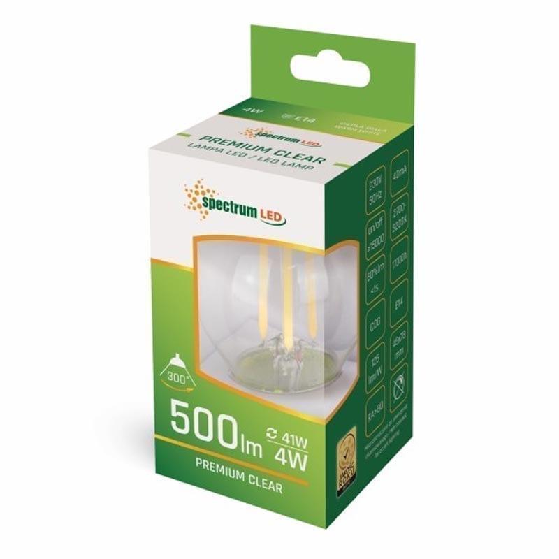 4W E14 LED lemputė COG BULB box