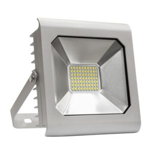 50W LED prožektorius LUX pilkas