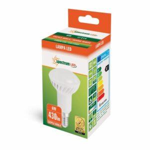 6W E14 LED lemputė Reflektorinė WW