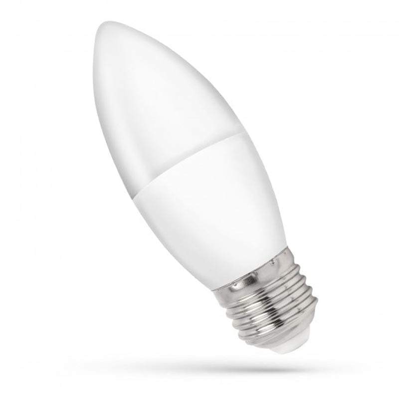 8W E27 LED lemputė CANDLE