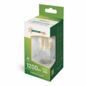 9W E27 LED lemputė COG box