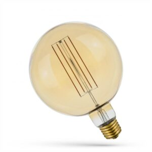 6W E40 LED lemputė Retro Globe