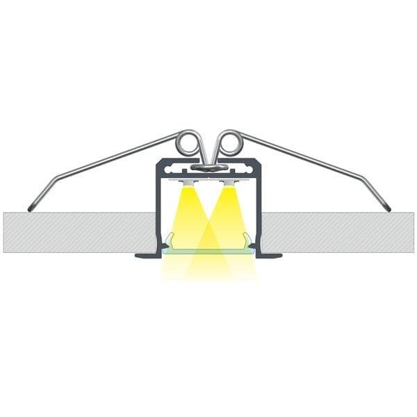 Įmontuojamas LED profilis inDILEDA 2