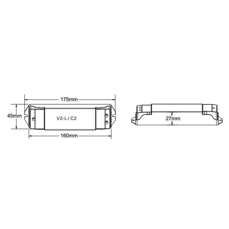 LED juostos valdiklis V2-L m