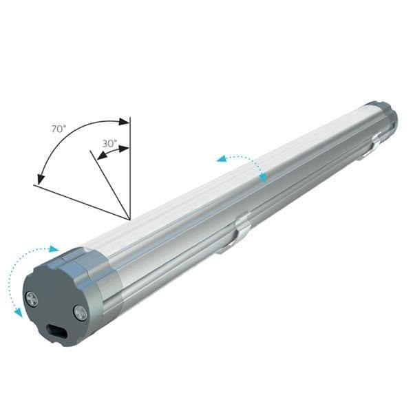 Apvalus LED profilis COSMO2