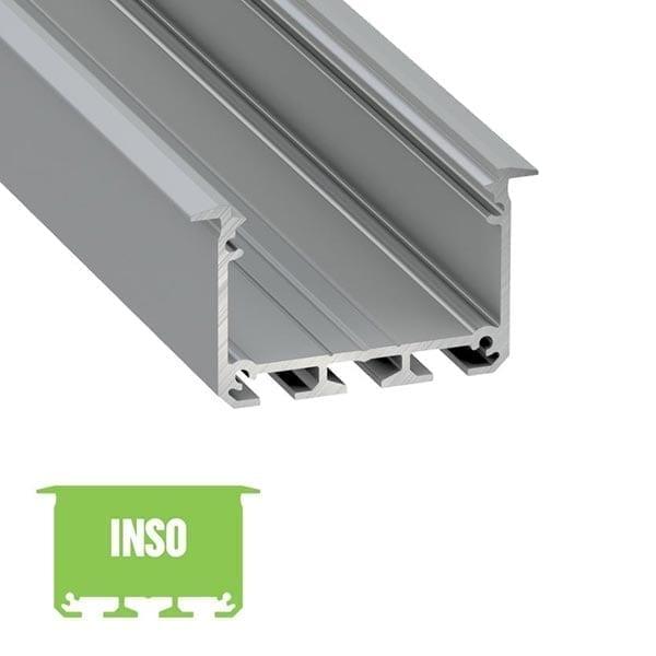 Įmontuojamas LED profilis INSO