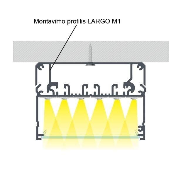 LED profilis LARGO 2