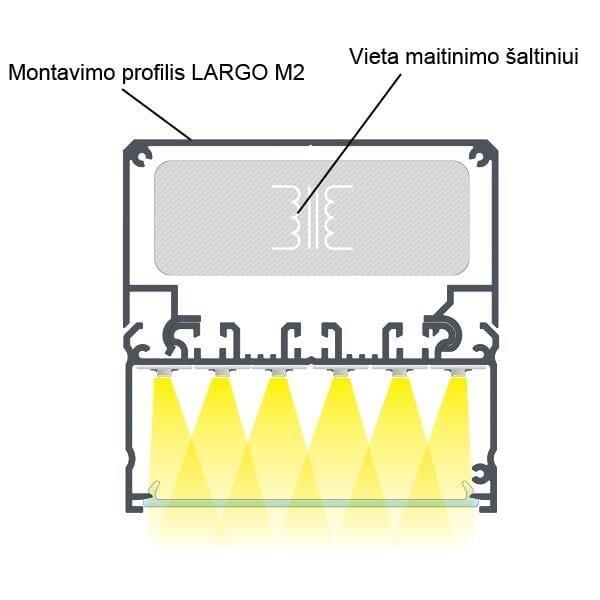 LED profilis LARGO 3
