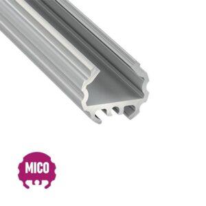 Apvalus LED profilis MICO