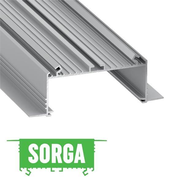 Užglaistomas LED profilis SORGA
