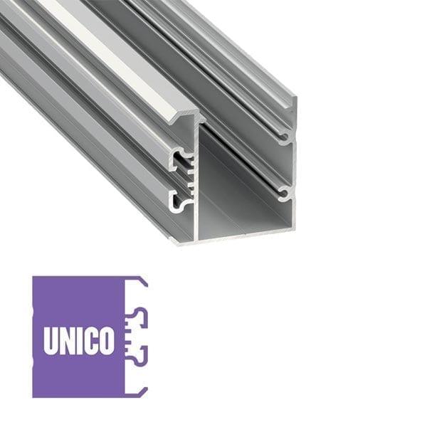Sieninis LED profilis UNICO
