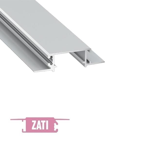 Užglaistomas LED profilis ZATI