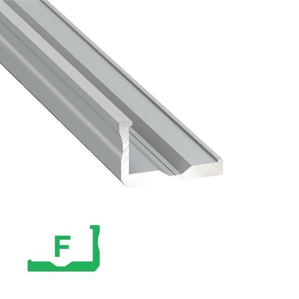 Paviršinis LED profilis F