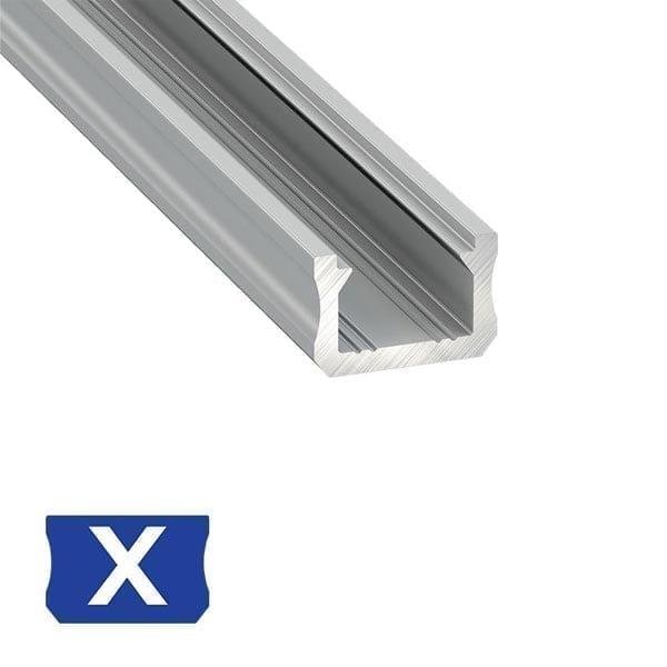 Paviršinis LED profilis X
