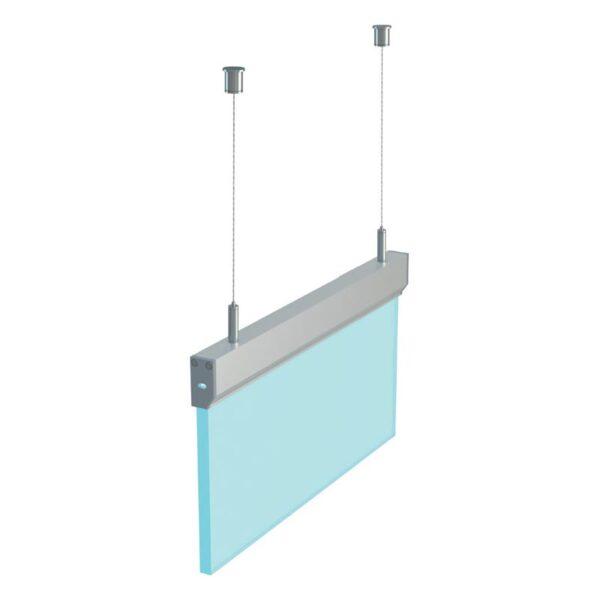 Stiklo LED profilis I6 3