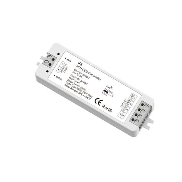RGB LED juostu valdiklis V3