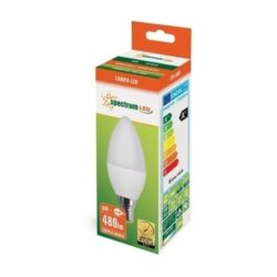 6W E14 LED lemputė CANDLE