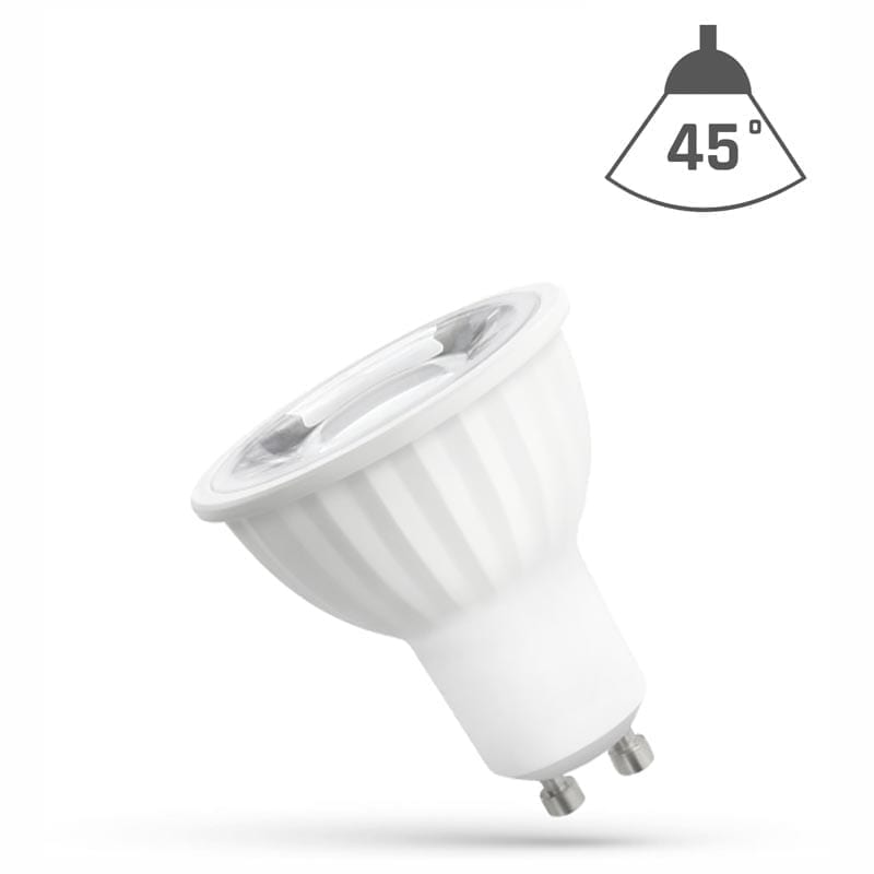 6W GU10 LED lemputė 45°
