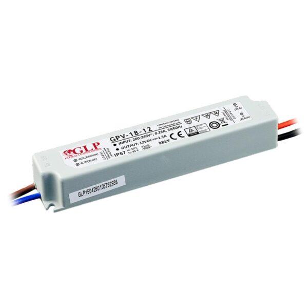 18W LED maitinimo šaltinis GPV