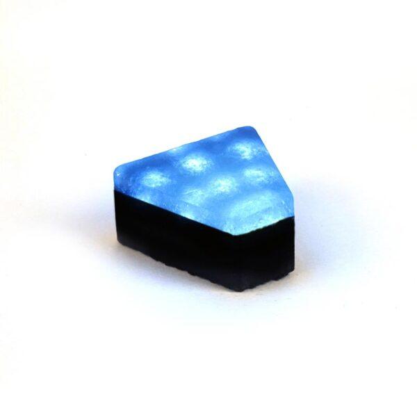 Šviečianti LED trinkelė STONE 12x5x11x6cm 3