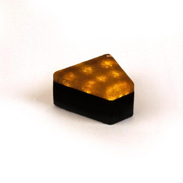 Šviečianti LED trinkelė STONE 12x5x11x6cm 4