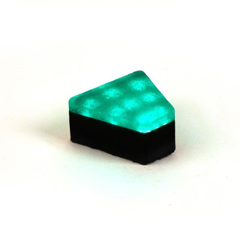 Šviečianti LED trinkelė STONE 12x5x11x6cm 5