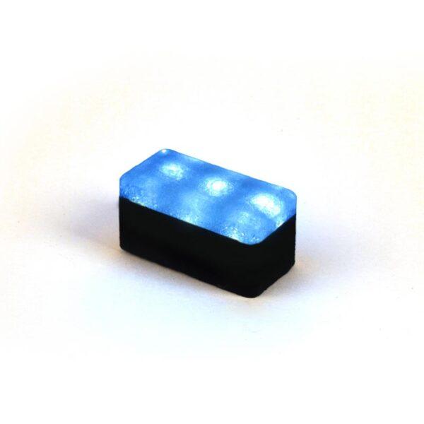 Šviečianti LED trinkelė NOSTALIT 6x12x6cm 3