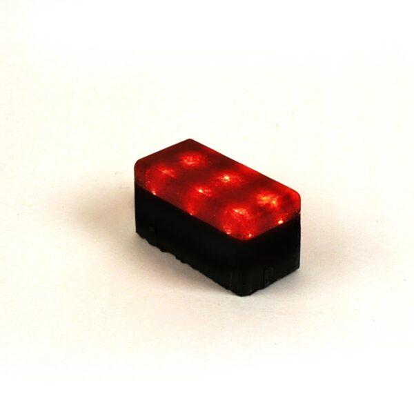 Šviečianti LED trinkelė NOSTALIT 6x12x6cm 4