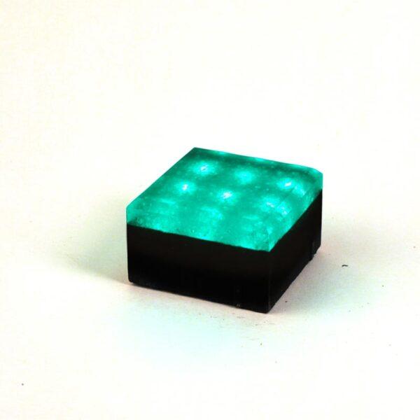Šviečianti LED trinkelė NOSTALIT 10x10x6cm 4