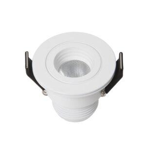 3W Įmontuojamas LED šviestuvas DOTFIX