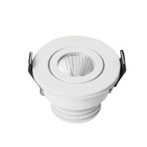 5W Įmontuojamas LED šviestuvas MINIDOT