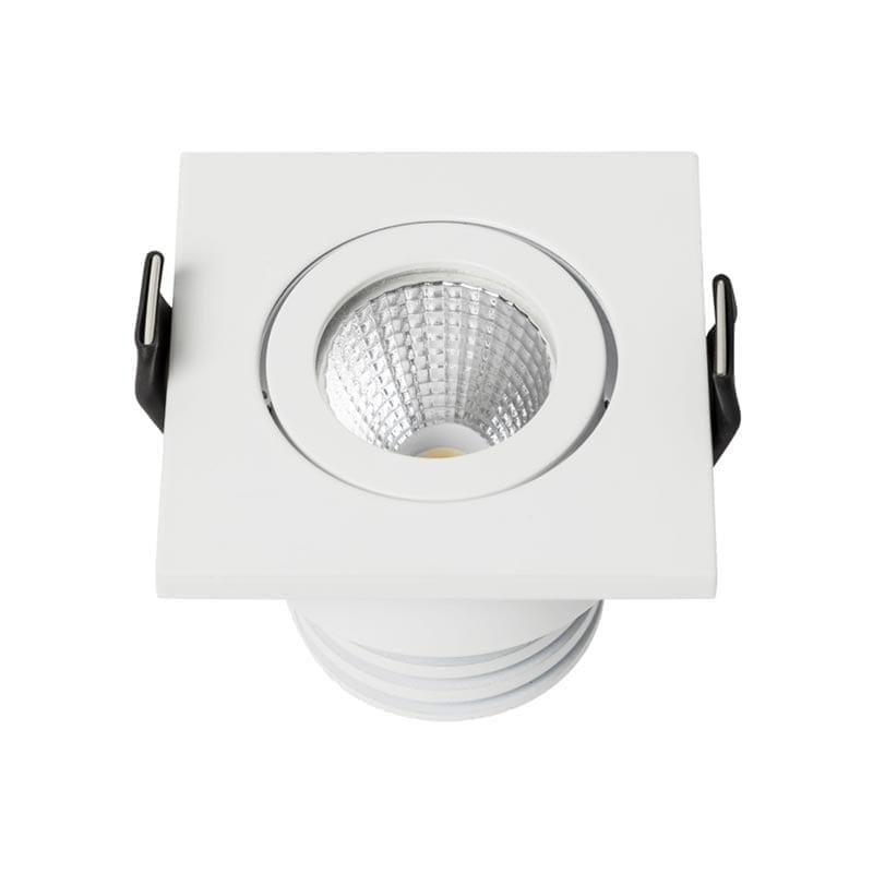 5W Įmontuojamas LED šviestuvas MINIDOT SQ